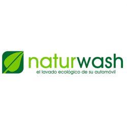 Logotipo de NaturWash lavado de coches