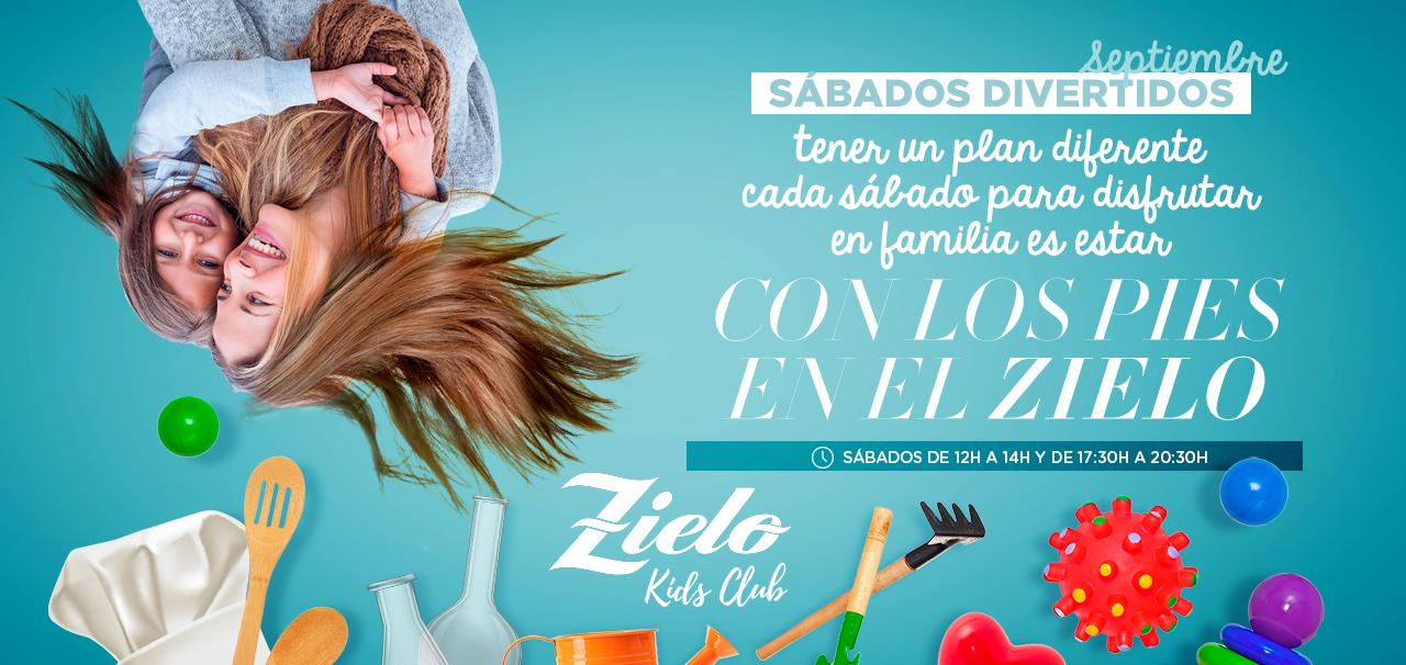 ¿Te vienes a los sábados divertidos de Zielo Shopping?