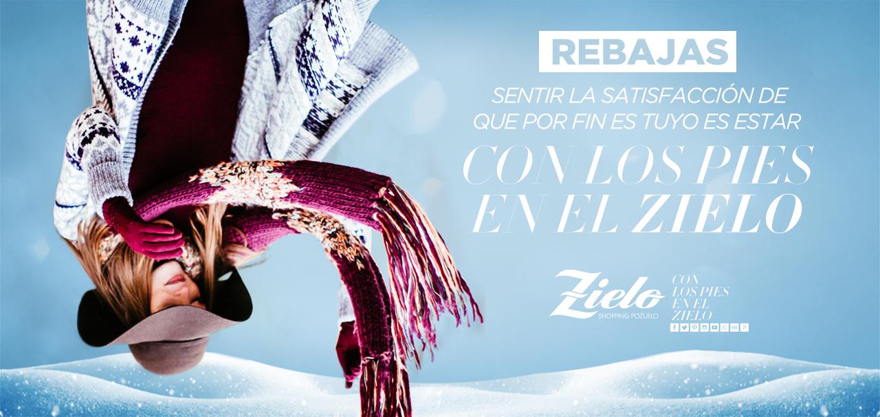 Llegan las Rebajas de Enero a Zielo Shopping!