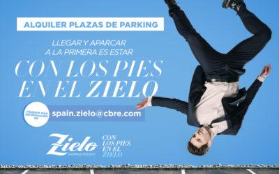 Alquiler plazas de parking