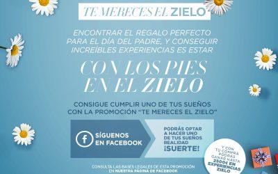 """¡Participa en nuestro concurso de Facebook """"Te mereces el Zielo""""!"""
