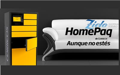 Nuevo servicio Homepaq de Correos en Zielo Shopping