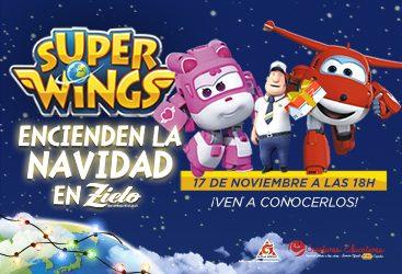 Los Súper Wings tienen una misión muy especial el día 17 de noviembre…¡Encender la Navidad en Zielo Shopping!