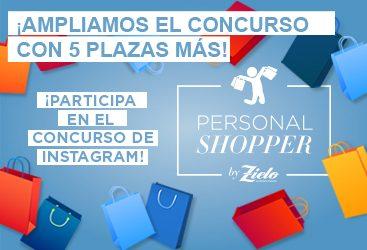 """¡Ampliamos el concurso """"Gana una sesión de Personal Shopper"""" con 5 plazas más!"""
