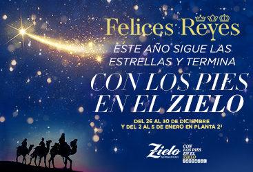 ¡Llegan los Reyes Magos a Zielo Shopping!
