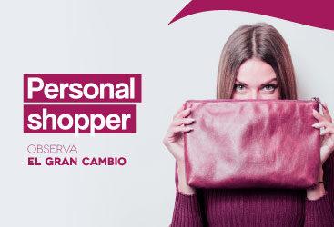 ¡Nuevo servicio de personal shopper!