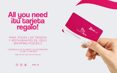 All You need ¡tu tarjeta regalo!