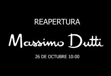 Nueva tienda Massimo Dutti