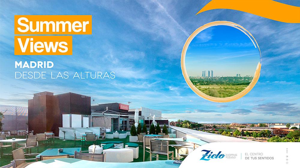 Este verano... ¡terraceo en Zielo Shopping Pozuelo!