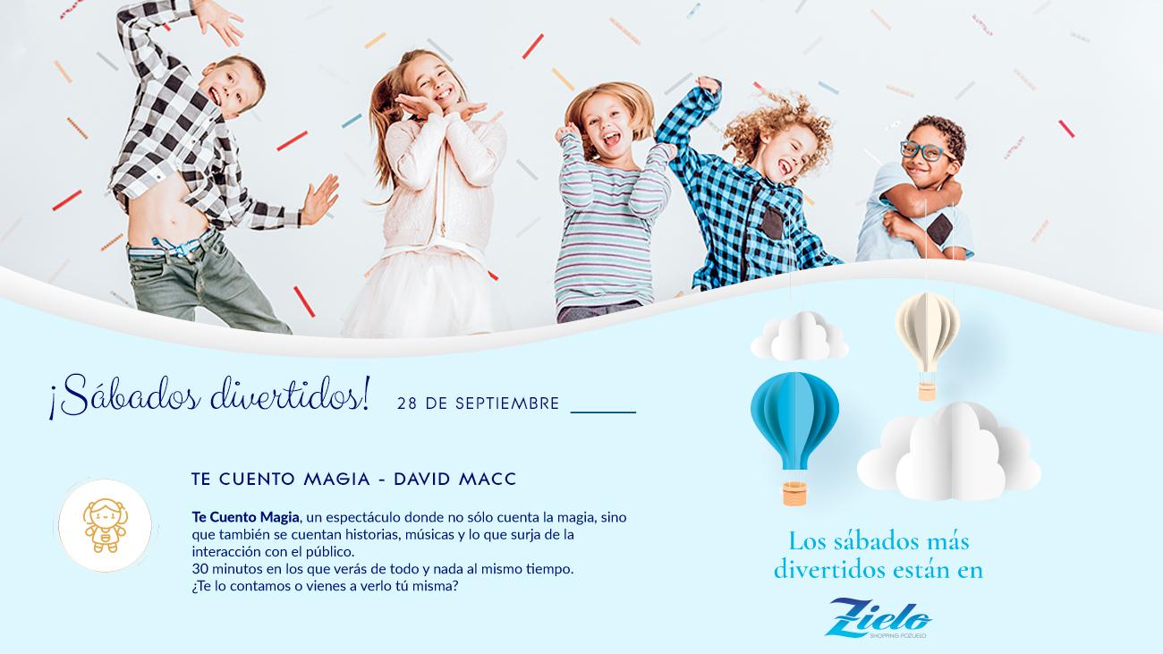 Actividades infantiles sábado 28 de septiembre