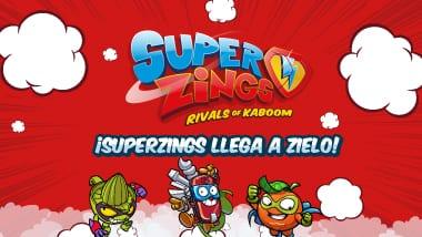 Los Superzings llegan a Zielo