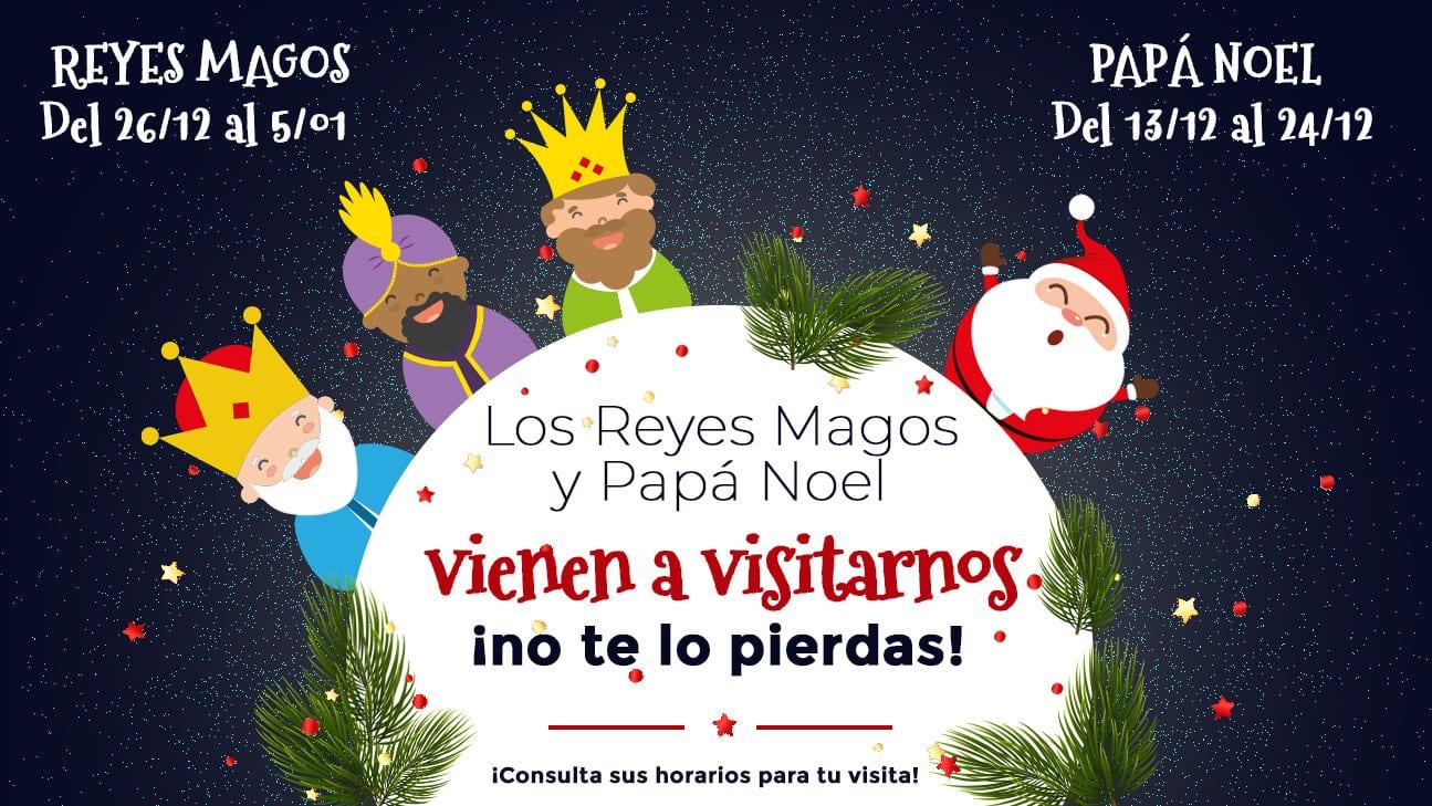 Papá Noel y los Reyes Magos llegan a Zielo