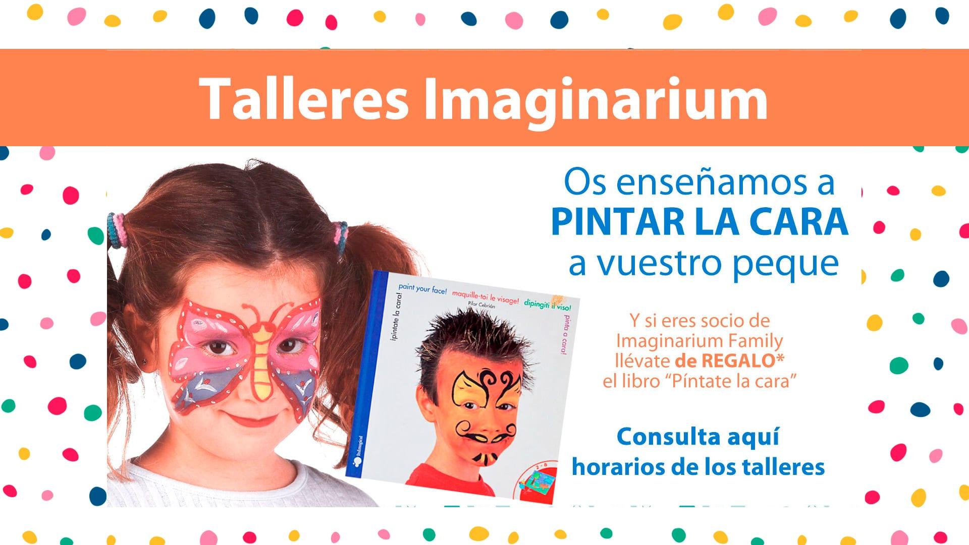 Pintacaras con Imaginarium