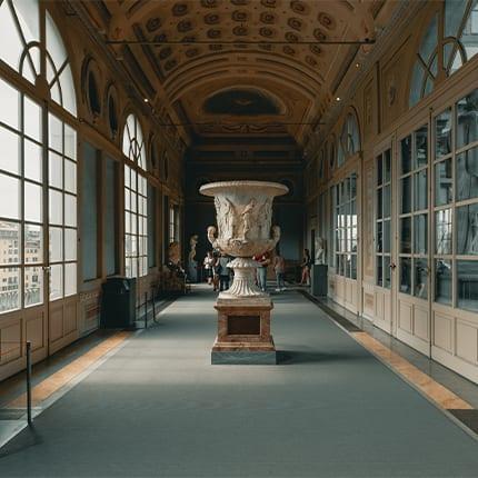 museos-del-mungo-galería-uffizi