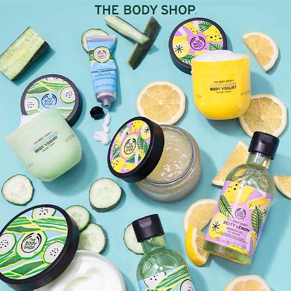 ¡Refréscate todo el verano con las ediciones especiales de verano 2020 de The Body Shop