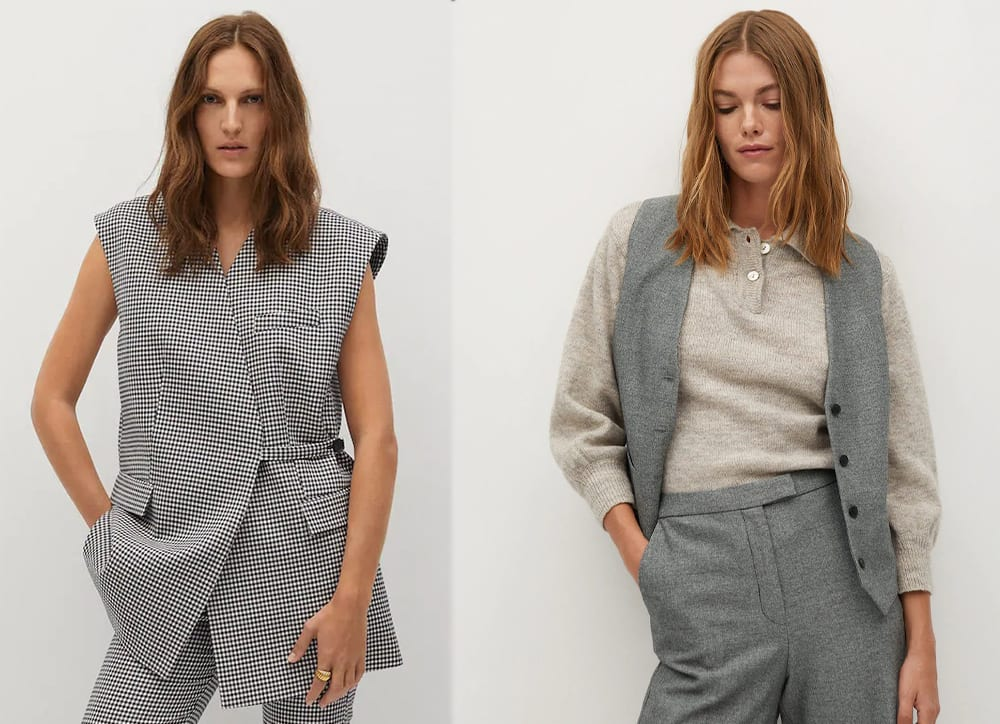 Los chalecos de mujer son la nueva blazer